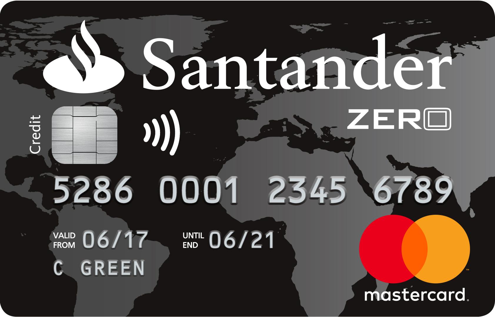 Santander | Zero Credit Card-logo