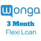 Wonga 3 Month Flexi Loan-logo