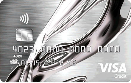 chrome | Visa Credit Card -logo
