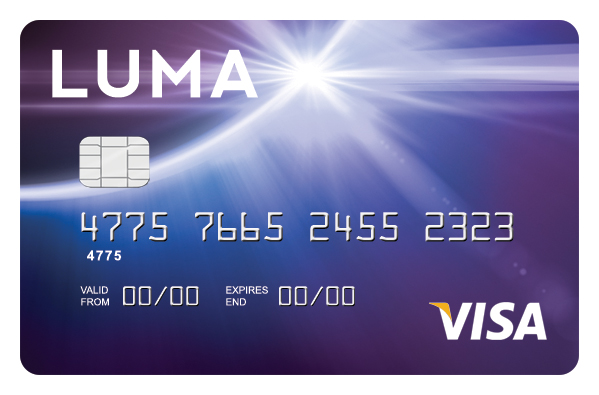 Luma | Bad Credit Credit Card -logo