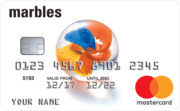 marbles | Bad Credit Credit Card -logo