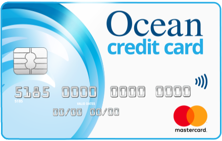 Ocean Finance | Bad Credit Credit Card -logo