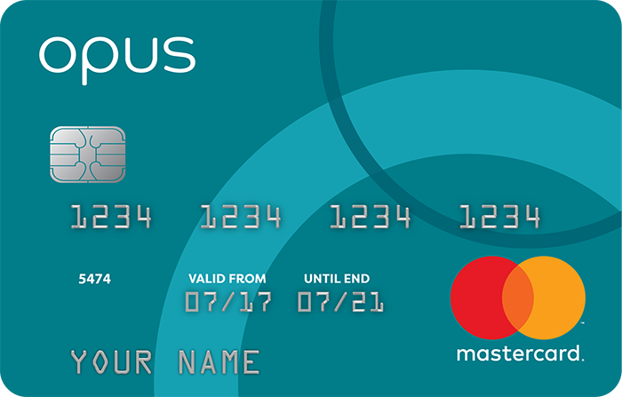 opus | Bad Credit Credit Card-logo