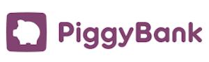 Piggy Bank } logo